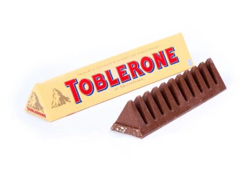 Toblerone Schokoladen-Design