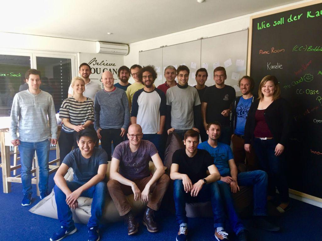 Gruppenfoto SBB Hackathon