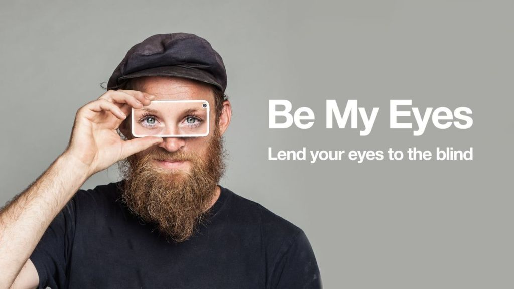 Be My Eyes App am World-Usability-Tag
