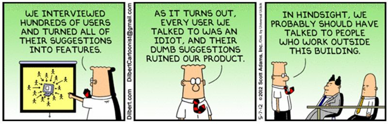 Dilbert – User Research