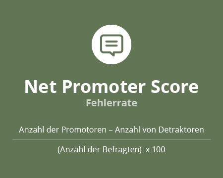 Calculation Net Promoter Score