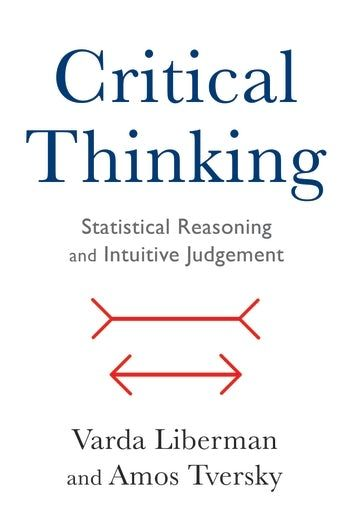 Critical Thinking Psychology Book User Research