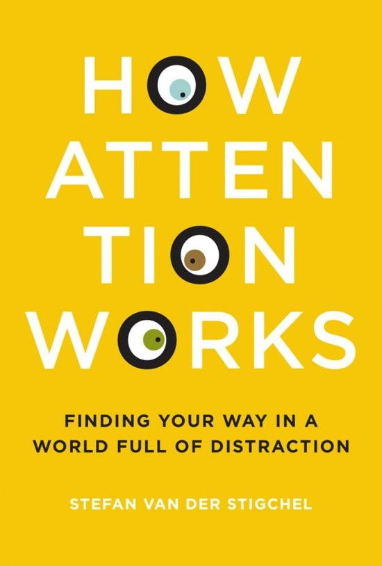How Attention works Psychology Book User Research