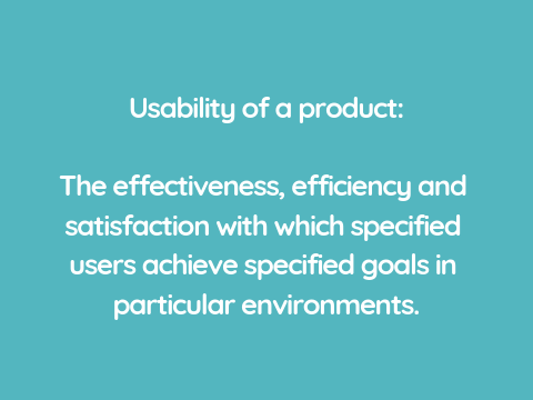 in-house usability tests iso definition