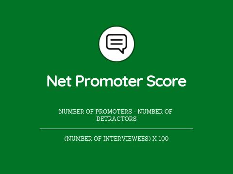 important UX KPIs net promoter score