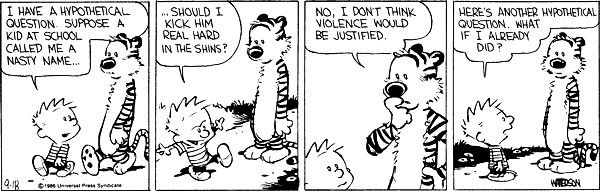 calvin hobbes why you're not learning anything from your interviews