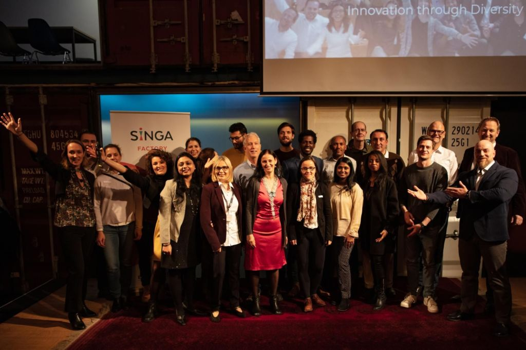 SINGApreneurs pitch