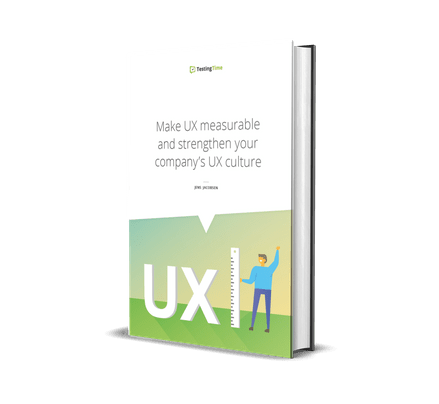 make UX measurable