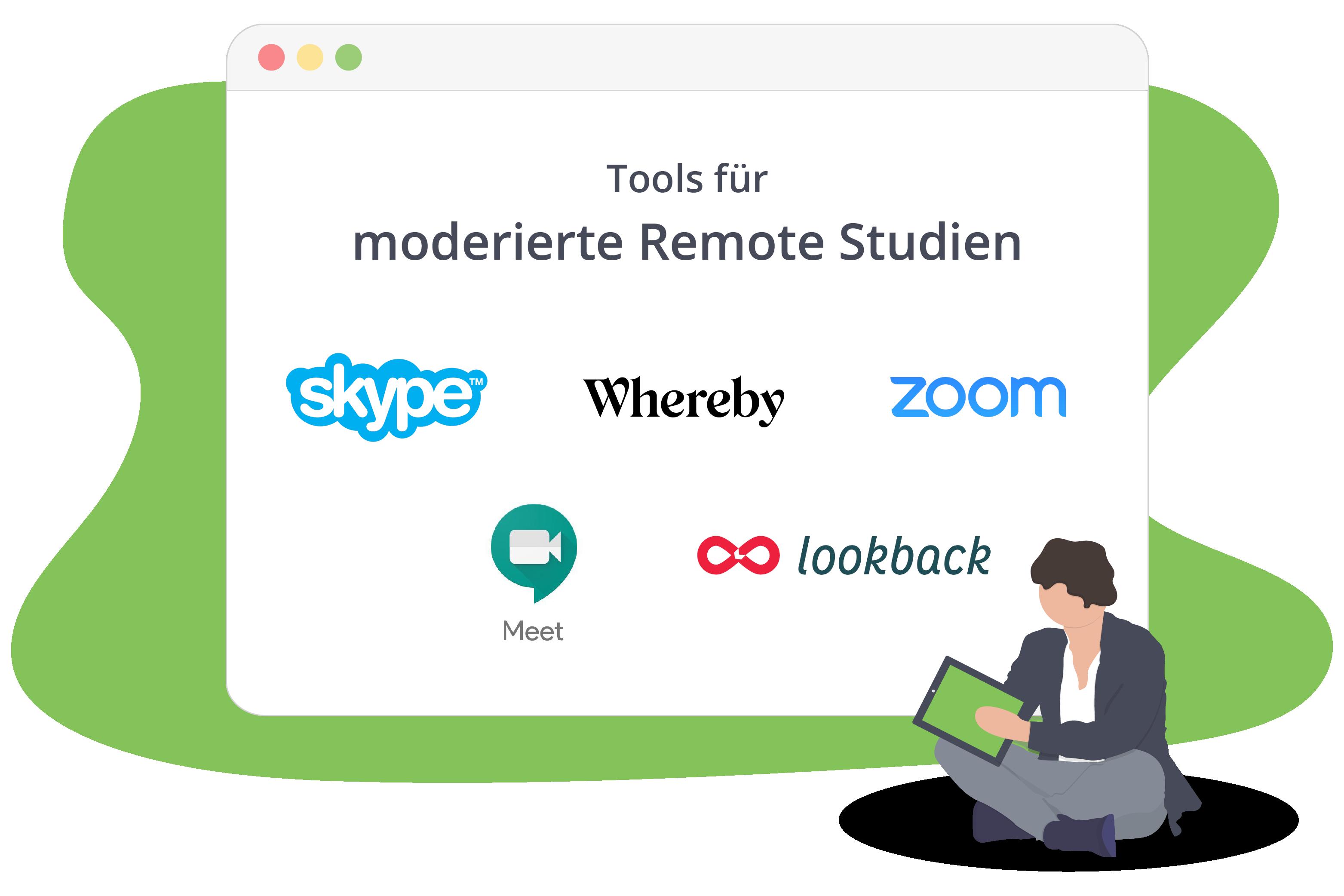 Tools für moderierte Studien