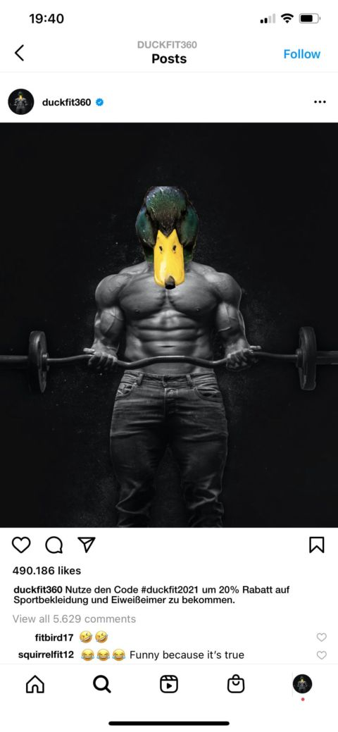 Duckfit