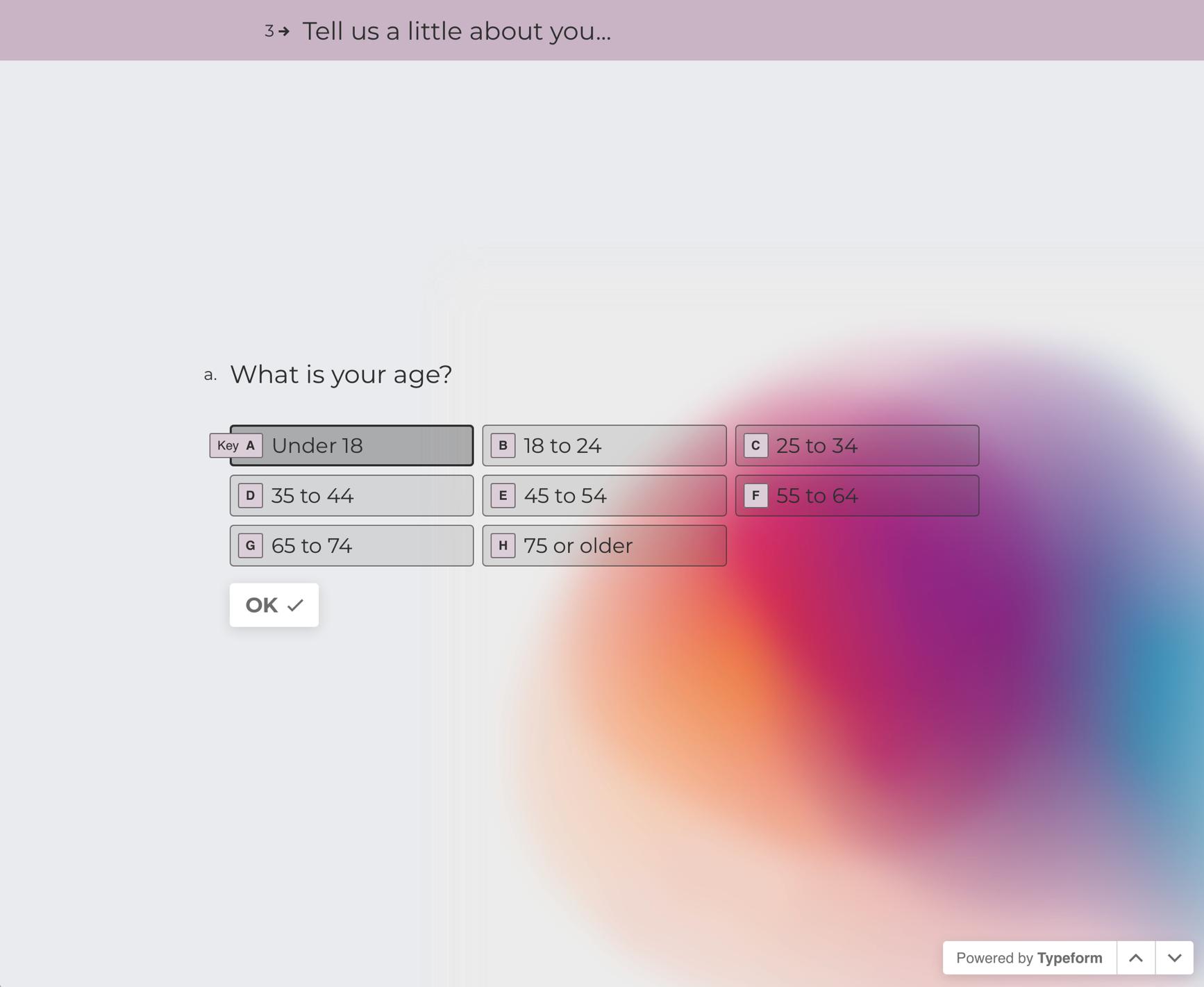 Typeform surveys