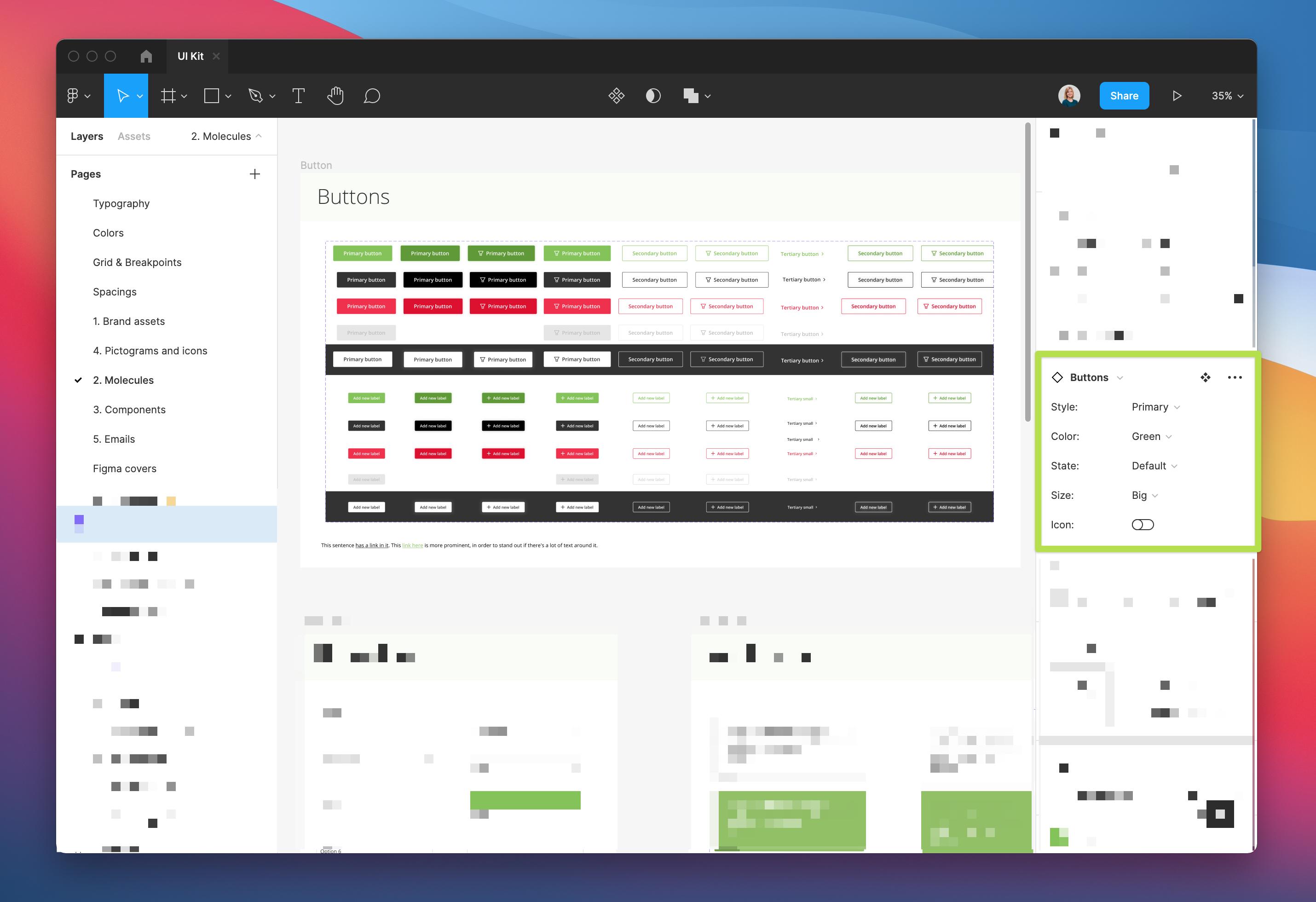 TestingTime Design System Buttons